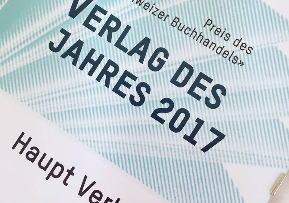 Haupt Verlag Bern – Verlag des Jahres 2017!