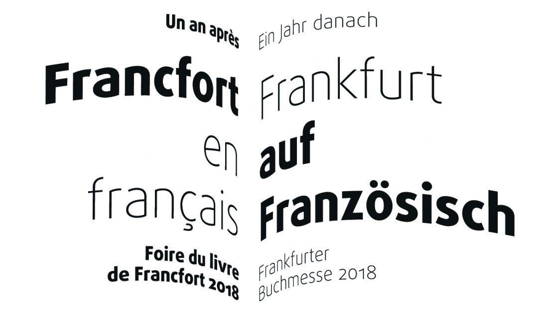 Francfort en français | Frankfurt auf französisch 2018