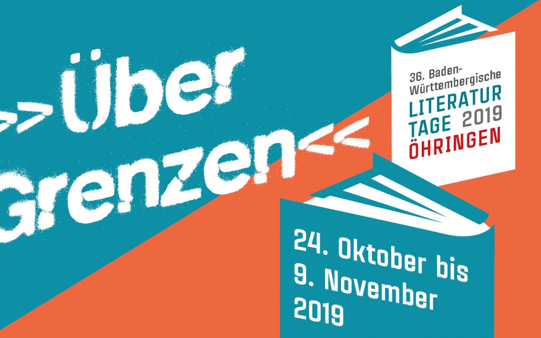 Eröffnungsveranstaltung der 36. Baden-Württembergischen Literaturtage