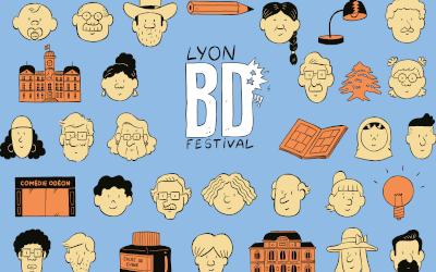 Pressekonferenz von Lyon BD Festival