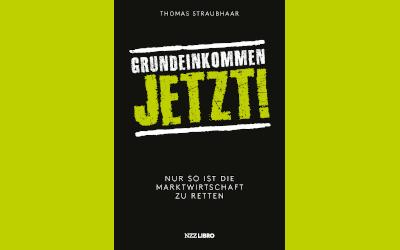 """""""Grundeinkommen jetzt"""" (Verlag NZZ Libro) in DER SPIEGEL, im Saarländischen Rundfunk (SR.de) und im rbb Inforadio"""